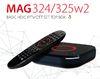 MAG 324w2 Full HD HEVC IPTV Receiver BCM75839, Linux 3.3, OpenGLES 2.0, WLAN