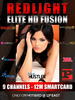 Redlight Elite HD Fusion 9 Sender Viaccess Karte